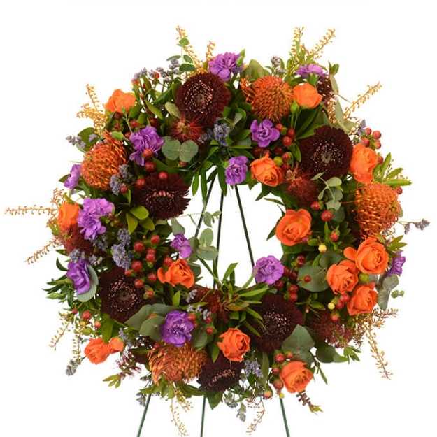 Picture of Autumn Prayers Wreath