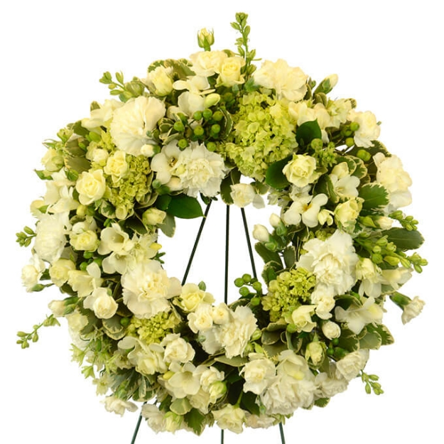 Picture of Peaceful Wishes Wreath