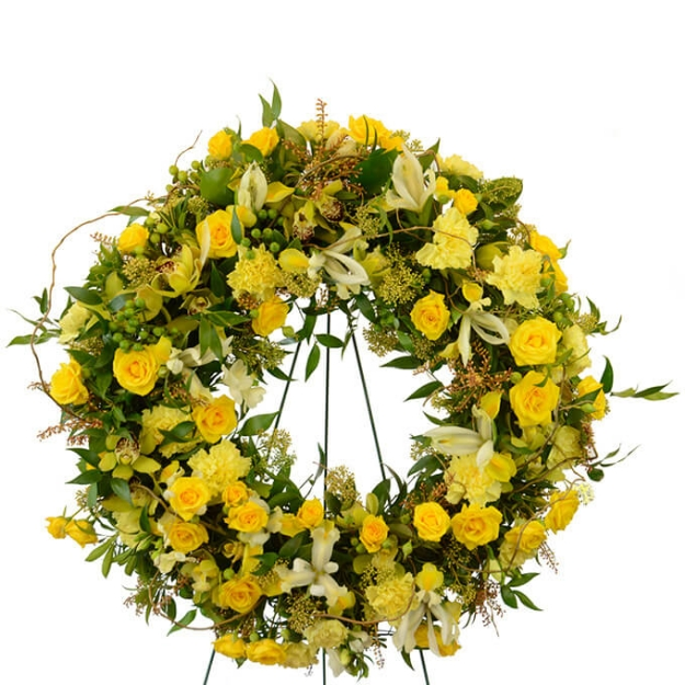 Picture of Touch of Sunshine Wreath