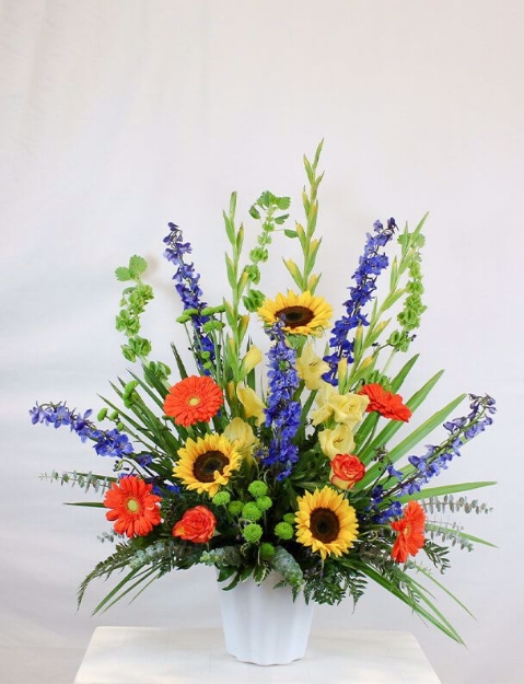Funeral Flower Vases and Baskets in Calgary Canada