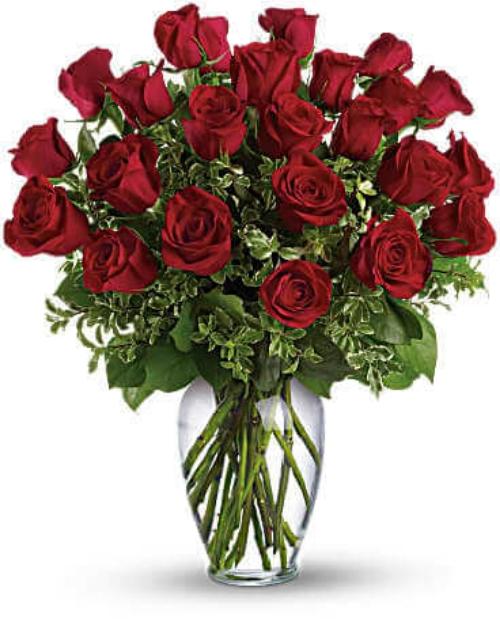 Picture of Full of Heart-24 premium roses