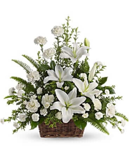 Picture of Peaceful white Lilies