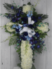 Picture of Forever Blue Carnation Cross
