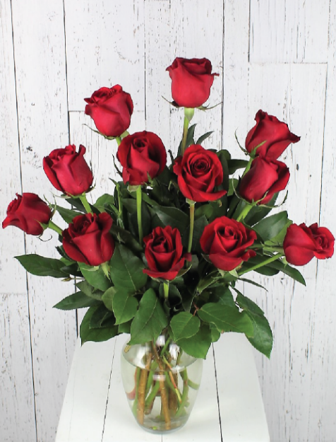 Picture of 12 Long Stem Premium Roses- Admin Day Special  $49.99/$39.99